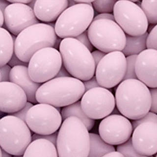 Pink Jordan Almonds - Milk Chocolate 5lb