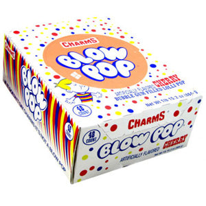 Cherry Blow Pops - 48ct Box