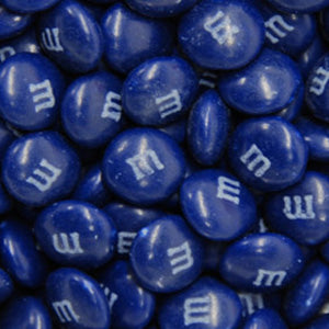 Dark Blue M&M's - Milk Chocolate 10lb
