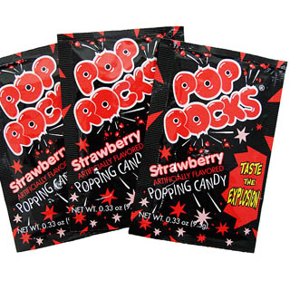 Strawberry Pop Rocks - 36ct