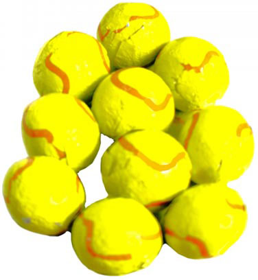 Chocolate Tennis Balls - 5lb Bag