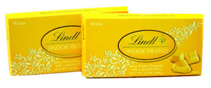 Lindt Lindor Truffle Bars - White Chocolate 12ct