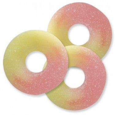 Strawberry Banana Gummi Rings - 4.5lb