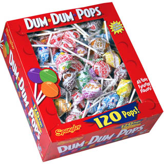 Dum Dum Pops - 120ct