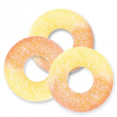 Sugar Free Peach Rings - 4.5lb