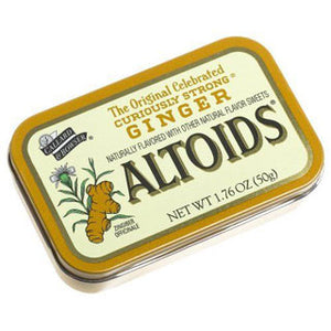 Ginger Altoids mints