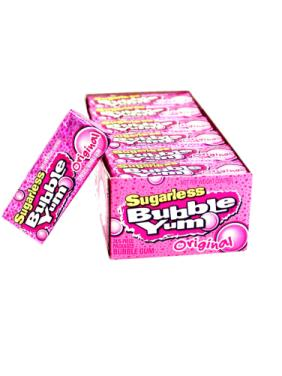 Sugar Free Bubble Yum Original - Small 12 ct