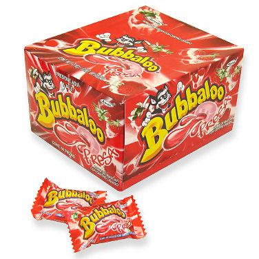 Strawberry Bubbaloo Bubble Gum - 60ct Box