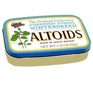 Wintergreen Altoids Mints - 12ct