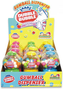 Dubble Bubble Gumball Dispensers - 12ct