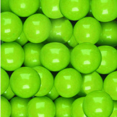 Green Apple Bubble Gum Balls 1-inch - 850ct