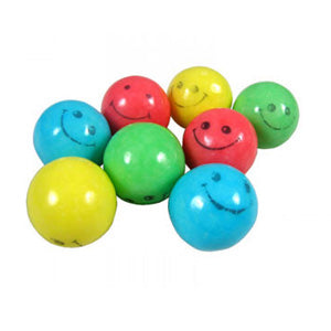 Smiles Bubble Gum Balls Assorted - 850ct
