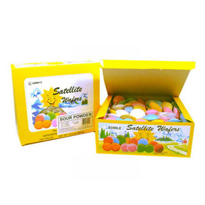 Satellite Wafers Sour Powder - 240ct Display Box