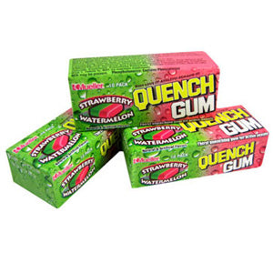 Quench Gum - Strawberry Watermelon 12ct