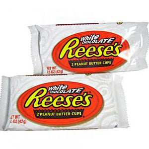 Reese's Peanut Butter Cups - White Chocolate