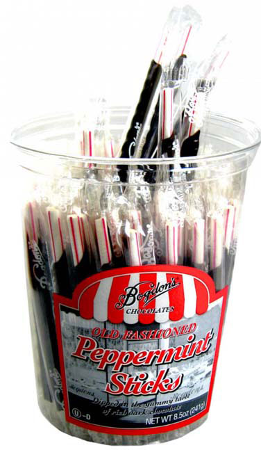Dark Chocolate & Peppermint Old-Fashioned Sticks - 8.5oz