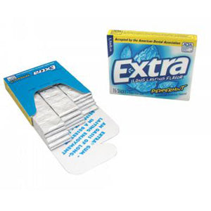 Wrigley's Extra Peppermint - 15-Stick Packs 10ct