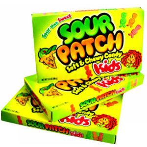 Sour Patch Kids - 3.5oz Boxes 12ct