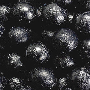 Black Milk Chocolate Balls - Foil 10lb