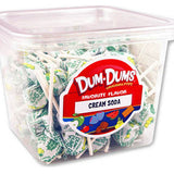 Dum Dum Pops - Cream Soda 1lb Tub