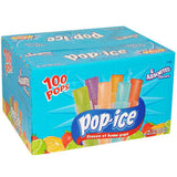 Pop Ice Assorted Flavors - 100 count