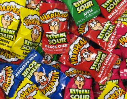 Warheads Extreme Sours - 5lb