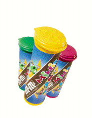 Mini M&M's Tubes - Milk Chocolate 24ct