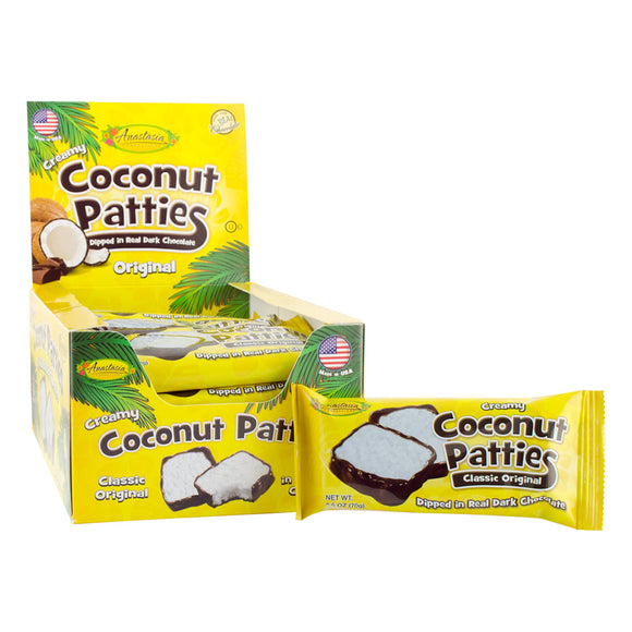 Anastasia Original Coconut Patties 2pc - 20ct