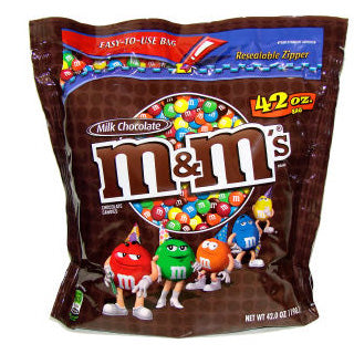 M&M's - Milk Chocolate 42oz Bag