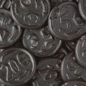 Licorice Money Candy - 2.2lb