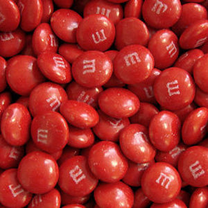 Red M&M's - Milk Chocolate 5lb