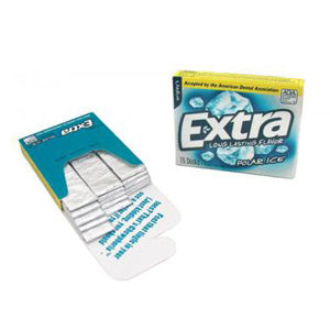 Wrigley's Extra Polar Ice - 15-Stick Slim Packs 10ct