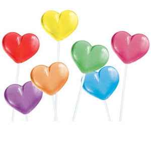 Heart Twinkle Pops - 120ct