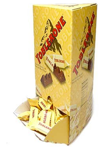 Toblerone Mini Chocolate Bars - 100ct
