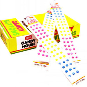 Necco Candy Buttons - 24ct