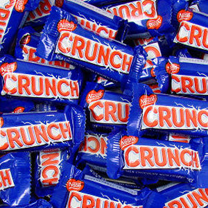 Nestle Crunch Bars - Fun-Size 5lb