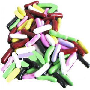 Jelly Belly Licorice Pastels - 10lb In Bulk