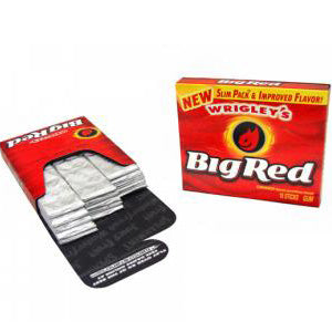Wrigley's Big Red - 15-Stick Slim Packs 10ct