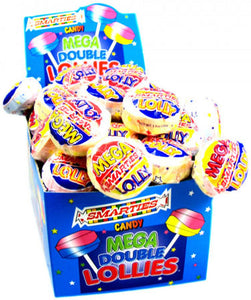 Mega Smarties Pops - Wrapped 24ct