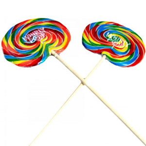 Rainbow Whirly Pops - 1.5oz 60ct