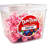 Dum Dum Pops - Bubble Gum 1lb Tub