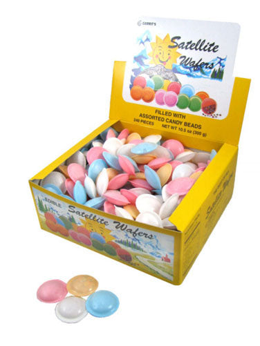 Satellite Wafers - 240ct Display Box