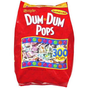 Dum Dum Pops - Assorted 300ct Bag