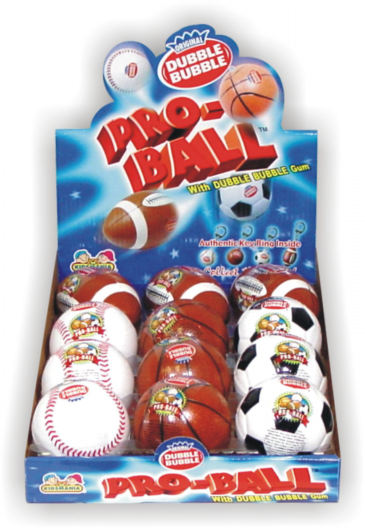 Dubble Bubble Pro Ball - 12ct Display Box