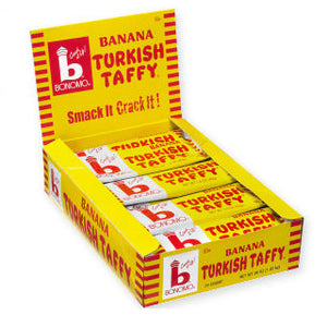Banana Turkish Taffy by Bonomo - 24ct