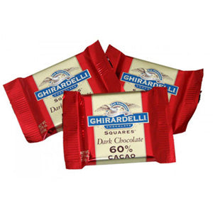 Ghirardelli Squares Dark Chocolate - 120ct Bag