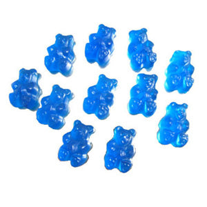 Blue Raspberry Gummi Bears - 5lb