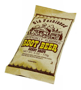Old Fashion Drops - Root Beer - 6 oz Bag, 24 count
