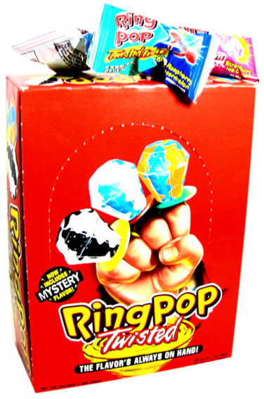 Ring Pops Twisted - 24ct Box