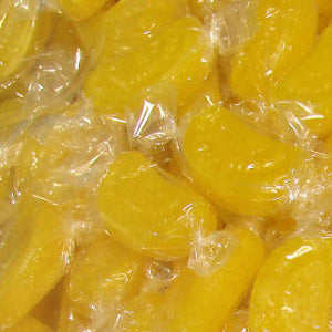 Lemon Slices Hard Candy - Wrapped 15lb